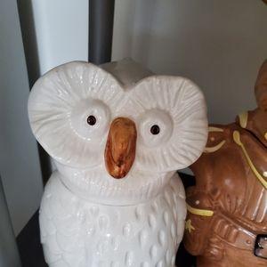 Mancer italian owl cookie jar